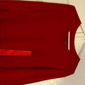 Red v neck Apt.9 medium shirt (Men's)